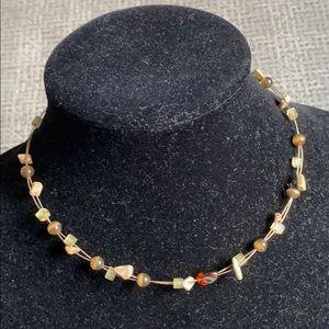 Lia Sophia Bead Choker Necklace